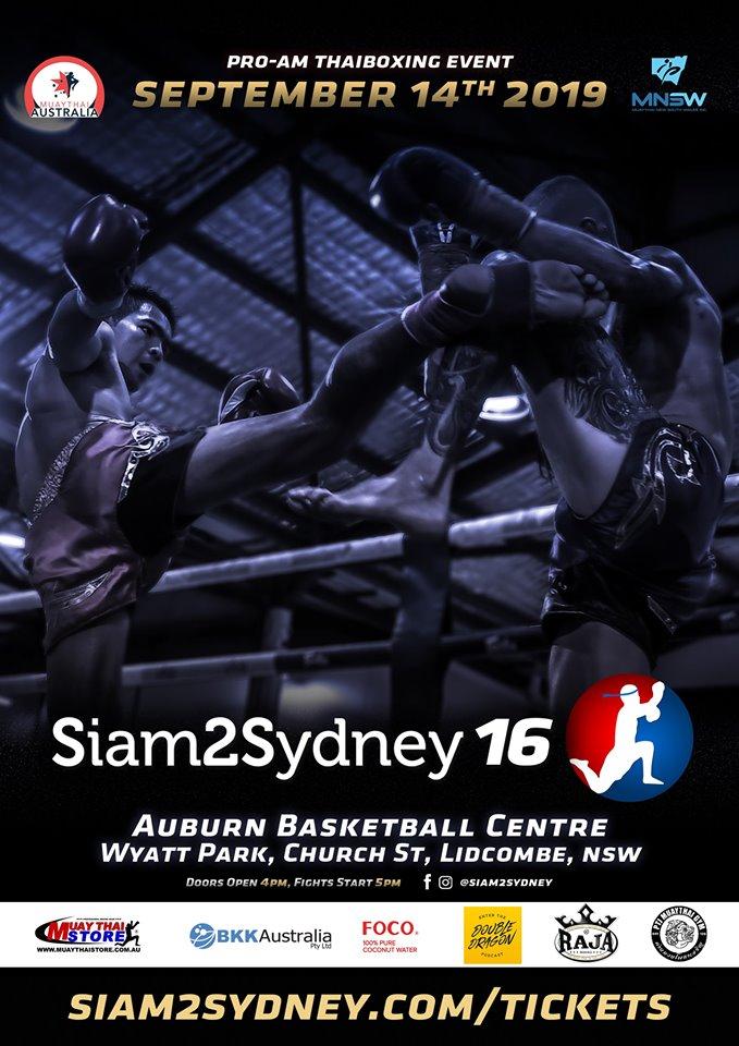 Siam2Sydney SEP14th